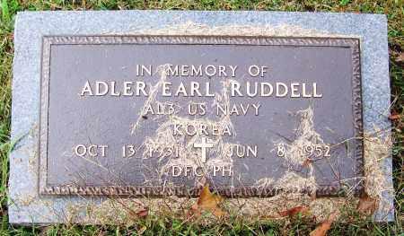 RUDDELL (VETERAN, KIA), ADLER EARL - Independence County, Arkansas | ADLER EARL RUDDELL (VETERAN, KIA) - Arkansas Gravestone Photos