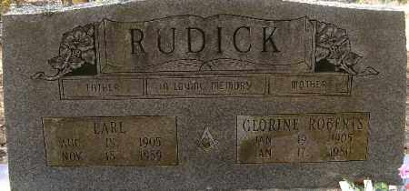 RUDICK, EARL - Independence County, Arkansas | EARL RUDICK - Arkansas Gravestone Photos