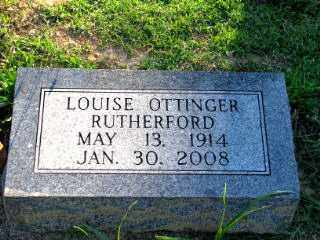"OTTINGER RUTHERFORD, MARY LOUISE ""LOUISE"" - Independence County, Arkansas 