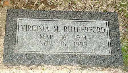 "RUTHERFORD, VIRGINIA CATHERINE ""DITTY"" - Independence County, Arkansas 