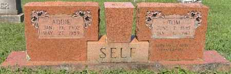 SELF, ADDIE - Independence County, Arkansas | ADDIE SELF - Arkansas Gravestone Photos