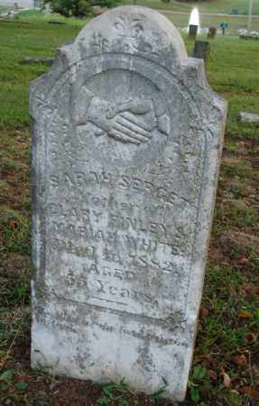 SERGET, SARAH - Independence County, Arkansas | SARAH SERGET - Arkansas Gravestone Photos