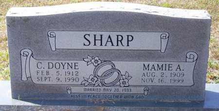 SHARP, MAMIE A - Independence County, Arkansas | MAMIE A SHARP - Arkansas Gravestone Photos
