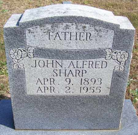 SHARP, JOHN ALFRED - Independence County, Arkansas | JOHN ALFRED SHARP - Arkansas Gravestone Photos