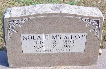 ELMS SHARP, NOLA - Independence County, Arkansas | NOLA ELMS SHARP - Arkansas Gravestone Photos