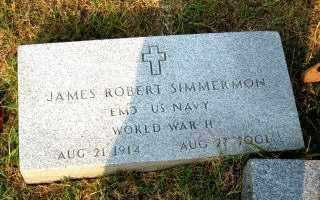 SIMMERMON,  SR.  (VETERAN WWII, JAMES ROBERT - Independence County, Arkansas | JAMES ROBERT SIMMERMON,  SR.  (VETERAN WWII - Arkansas Gravestone Photos