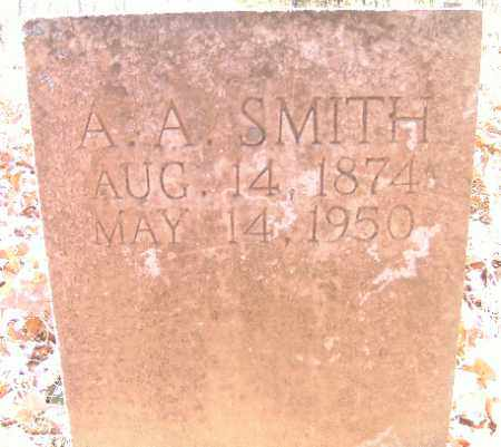 SMITH, A. A. - Independence County, Arkansas | A. A. SMITH - Arkansas Gravestone Photos
