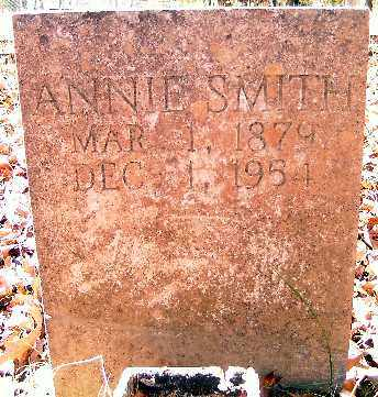 SMITH, ANNIE - Independence County, Arkansas | ANNIE SMITH - Arkansas Gravestone Photos
