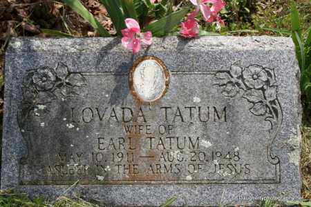 CARTER TATUM, SARAH - Independence County, Arkansas | SARAH CARTER TATUM - Arkansas Gravestone Photos
