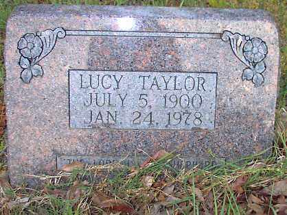TAYLOR TAYLOR, LUCY - Independence County, Arkansas | LUCY TAYLOR TAYLOR - Arkansas Gravestone Photos