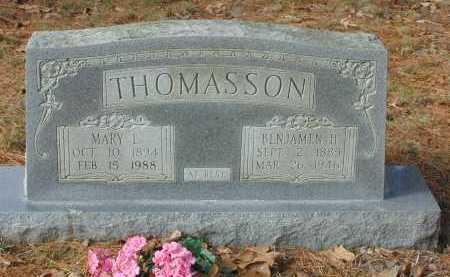 THOMASSON, BENJAMEN H. - Independence County, Arkansas | BENJAMEN H. THOMASSON - Arkansas Gravestone Photos