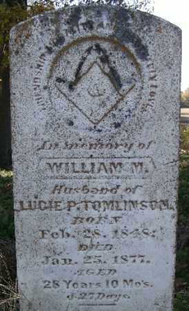 TOMLINSON., WILLIAM M. - Independence County, Arkansas | WILLIAM M. TOMLINSON. - Arkansas Gravestone Photos