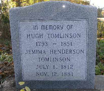 TOMLINSON, JEMIMA - Independence County, Arkansas | JEMIMA TOMLINSON - Arkansas Gravestone Photos