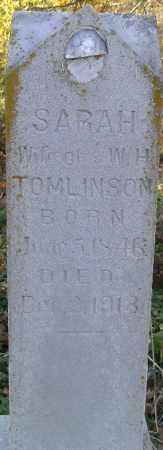 TOMLINSON, SARAH H. - Independence County, Arkansas | SARAH H. TOMLINSON - Arkansas Gravestone Photos