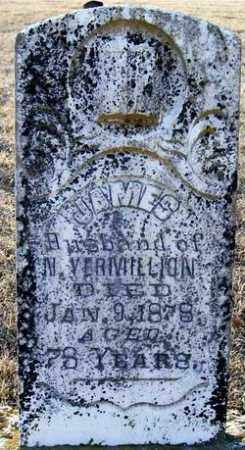 VERMILLION, JAMES D. - Independence County, Arkansas | JAMES D. VERMILLION - Arkansas Gravestone Photos