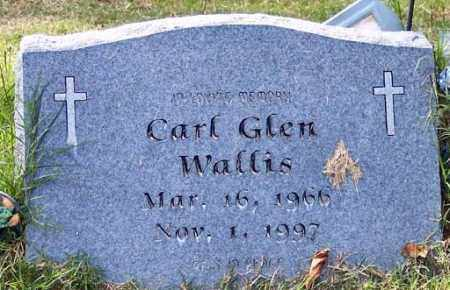 WALLIS, CARL GLEN - Independence County, Arkansas | CARL GLEN WALLIS - Arkansas Gravestone Photos