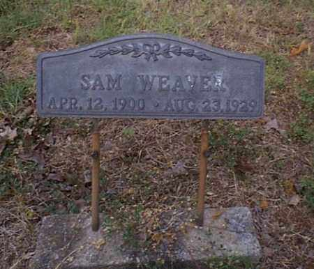 WEAVER, SAM - Independence County, Arkansas | SAM WEAVER - Arkansas Gravestone Photos