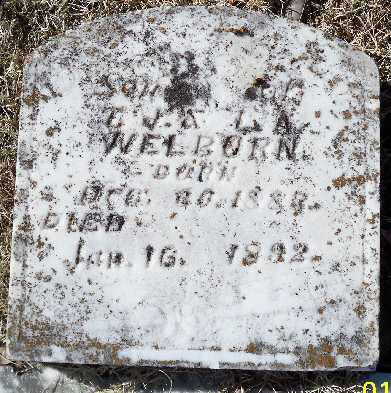 WELBORN, SAMUEL G. - Independence County, Arkansas | SAMUEL G. WELBORN - Arkansas Gravestone Photos