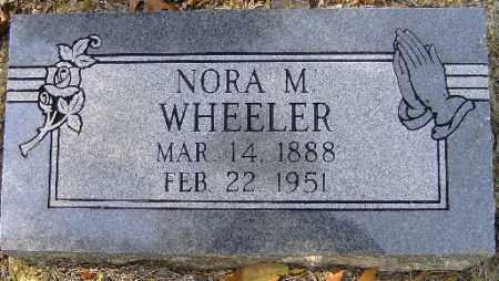 WHEELER, NORA M. - Independence County, Arkansas | NORA M. WHEELER - Arkansas Gravestone Photos