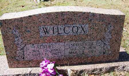 WILCOX, ALBERT - Independence County, Arkansas | ALBERT WILCOX - Arkansas Gravestone Photos