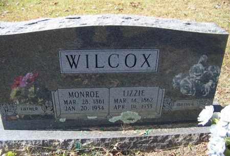 WILCOX, LIZZIE - Independence County, Arkansas | LIZZIE WILCOX - Arkansas Gravestone Photos