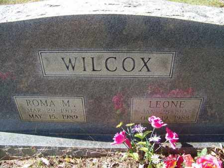 WILCOX, LEONE - Independence County, Arkansas | LEONE WILCOX - Arkansas Gravestone Photos