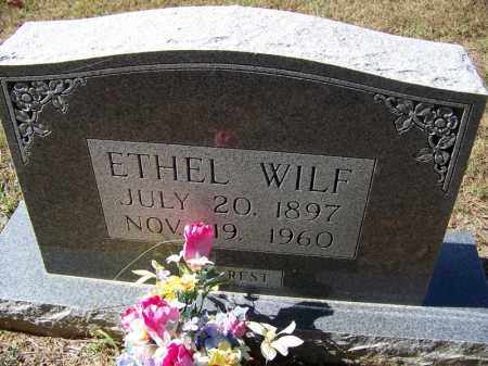 WILF, ETHEL - Independence County, Arkansas | ETHEL WILF - Arkansas Gravestone Photos