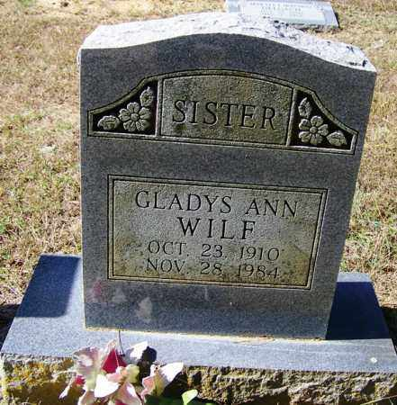 WILF, GLADYS ANN - Independence County, Arkansas | GLADYS ANN WILF - Arkansas Gravestone Photos