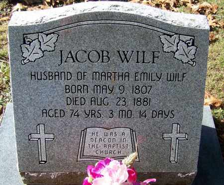 WILF, JACOB - Independence County, Arkansas | JACOB WILF - Arkansas Gravestone Photos
