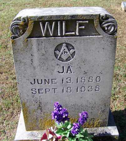 WILF, J A - Independence County, Arkansas | J A WILF - Arkansas Gravestone Photos
