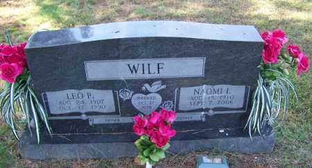 WILF, NAOMI L - Independence County, Arkansas | NAOMI L WILF - Arkansas Gravestone Photos