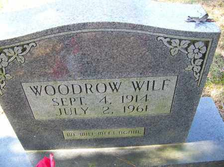 WILF, WOODROW - Independence County, Arkansas | WOODROW WILF - Arkansas Gravestone Photos