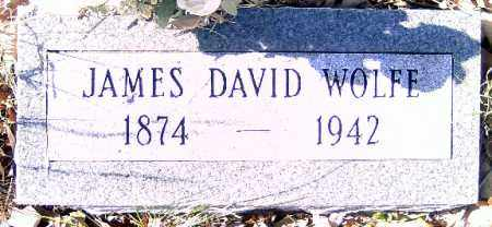 WOLFE, JAMES DAVID - Independence County, Arkansas | JAMES DAVID WOLFE - Arkansas Gravestone Photos