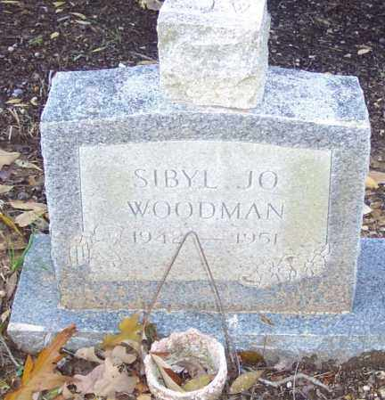 WOODMAN, SIBYL JO - Independence County, Arkansas | SIBYL JO WOODMAN - Arkansas Gravestone Photos