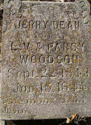 WOODSON,, JERRY DEAN - Independence County, Arkansas | JERRY DEAN WOODSON, - Arkansas Gravestone Photos