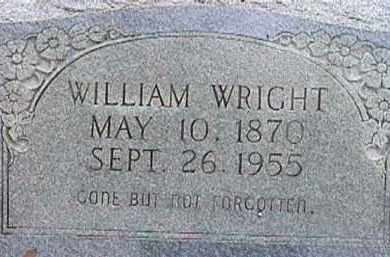 WRIGHT, WILLIAM - Independence County, Arkansas | WILLIAM WRIGHT - Arkansas Gravestone Photos