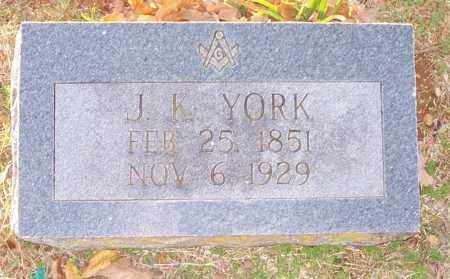 YORK, JAMES KNOX - Independence County, Arkansas | JAMES KNOX YORK - Arkansas Gravestone Photos
