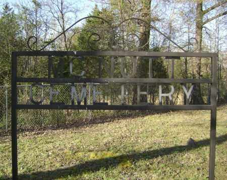 *MCNUTT CEMETERY SIGN,  - Independence County, Arkansas |  *MCNUTT CEMETERY SIGN - Arkansas Gravestone Photos