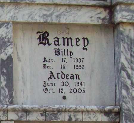 RAMEY, BILLY - Independence County, Arkansas | BILLY RAMEY - Arkansas Gravestone Photos