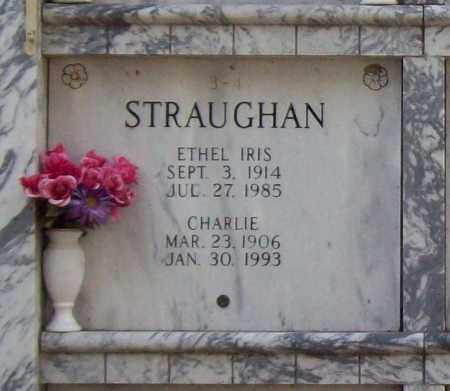 STRAUGHAN, ETHEL IRIS - Independence County, Arkansas | ETHEL IRIS STRAUGHAN - Arkansas Gravestone Photos