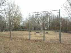 *, CONYERS CEMETERY GATE - Izard County, Arkansas | CONYERS CEMETERY GATE * - Arkansas Gravestone Photos