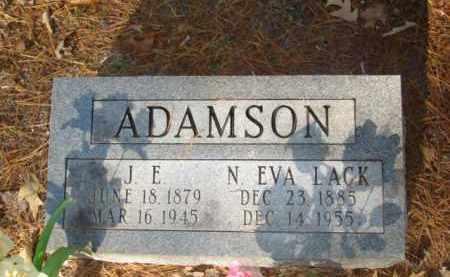 ADAMSON, J. E. - Izard County, Arkansas | J. E. ADAMSON - Arkansas Gravestone Photos