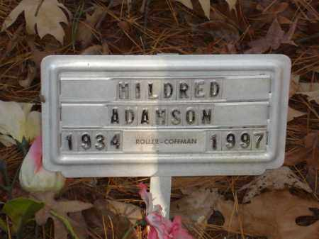 ADAMSON, MILDRED - Izard County, Arkansas | MILDRED ADAMSON - Arkansas Gravestone Photos