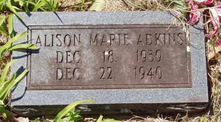 ADKINS, ALISON MARIE - Izard County, Arkansas | ALISON MARIE ADKINS - Arkansas Gravestone Photos