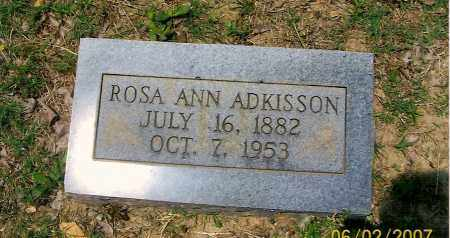 ADKISSON, ROSE ANN - Izard County, Arkansas | ROSE ANN ADKISSON - Arkansas Gravestone Photos