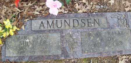 AMUNDSEN, ARNAR FRANKLIN ANDY - Izard County, Arkansas | ARNAR FRANKLIN ANDY AMUNDSEN - Arkansas Gravestone Photos