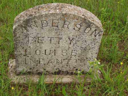 ANDERSON, BETTY LOUISE - Izard County, Arkansas | BETTY LOUISE ANDERSON - Arkansas Gravestone Photos