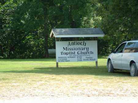 *ANTIOCH MISSIONARY BAPTIST,  - Izard County, Arkansas |  *ANTIOCH MISSIONARY BAPTIST - Arkansas Gravestone Photos