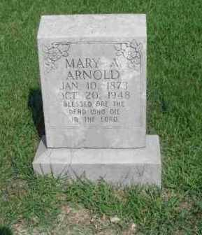 WOODS ARNOLD, MARY A. - Izard County, Arkansas | MARY A. WOODS ARNOLD - Arkansas Gravestone Photos