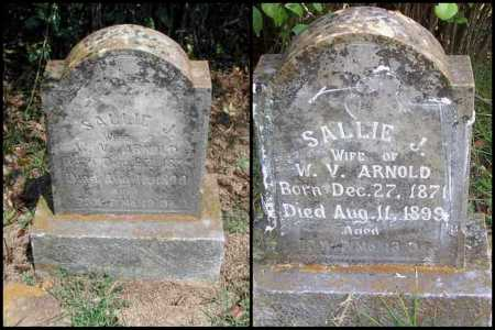 SCOTT ARNOLD, SALLIE JANE - Izard County, Arkansas | SALLIE JANE SCOTT ARNOLD - Arkansas Gravestone Photos